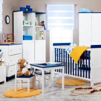 Przykładowa aranżacja z mebelkami Classic by BabyPlus - Navy Blue
